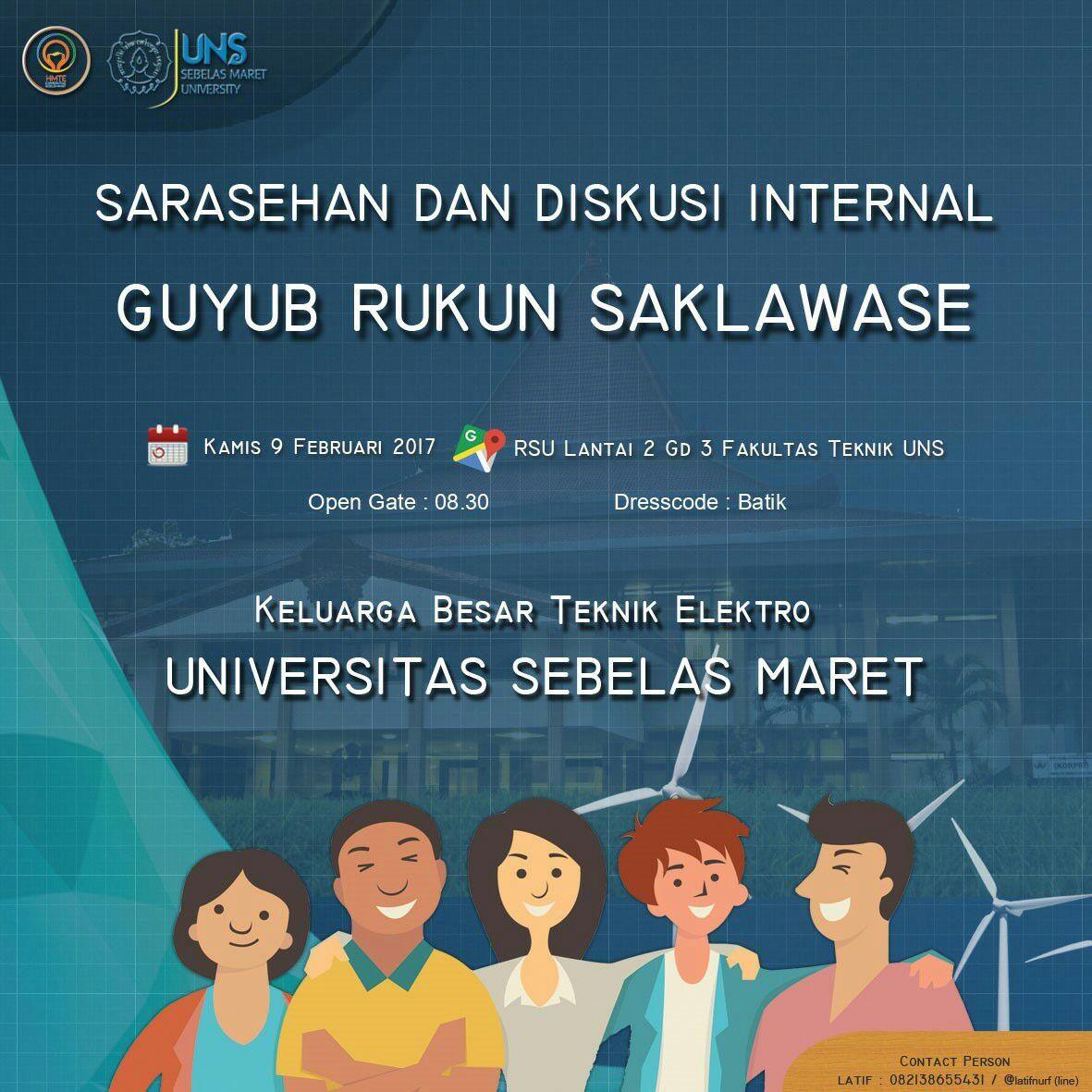 Sarasehan TE 2017